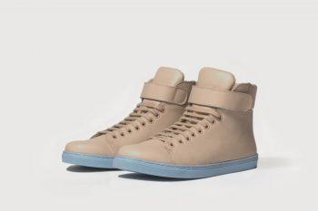 zapatillas color arena